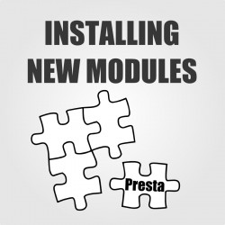 Installing new module to PrestaShop
