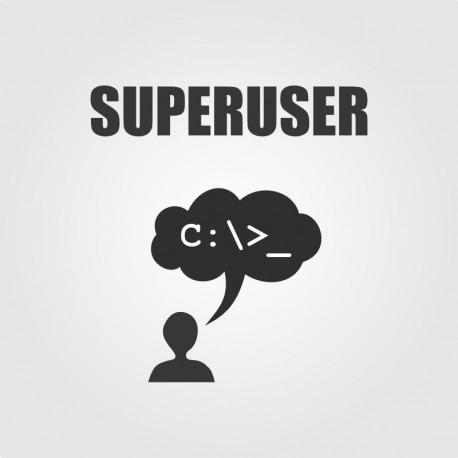 SuperUser Back Office