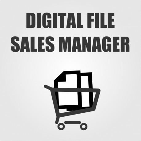 Digital File Sales Manager